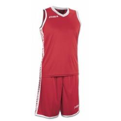 Форма баскетбольная красная Joma PIVOT 1227.001
