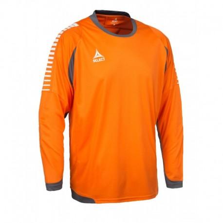 Футболка вратарская SELECT Chile оранжевая (длинный рукав)