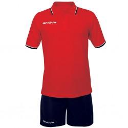 Комплект GIVOVA Street KIT032 (красный)
