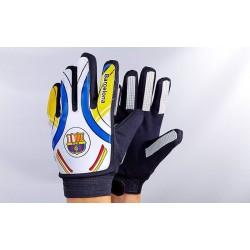 Перчатки вратарские юниорские Барселона FB-0028-03