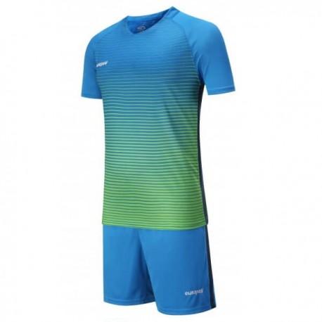 Футбольная форма Europaw 013 (зелено-голубая)