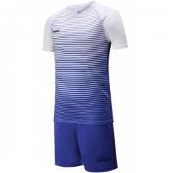 Футбольная форма Europaw 013 (бело-синяя)