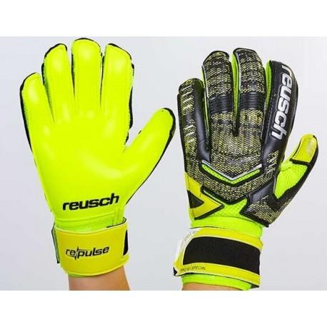 Перчатки вратарские с защитными вставками REUSCH FB-882-1