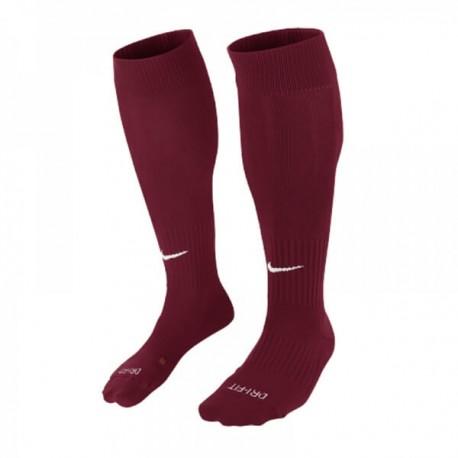 Гетры футбольные (бордовые) Nike Classic II Sock 394386-670