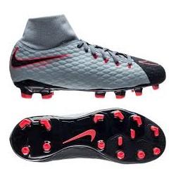 Детские футбольные бутсы Nike JR Hypervenom Phelon III DF FG 917772-400