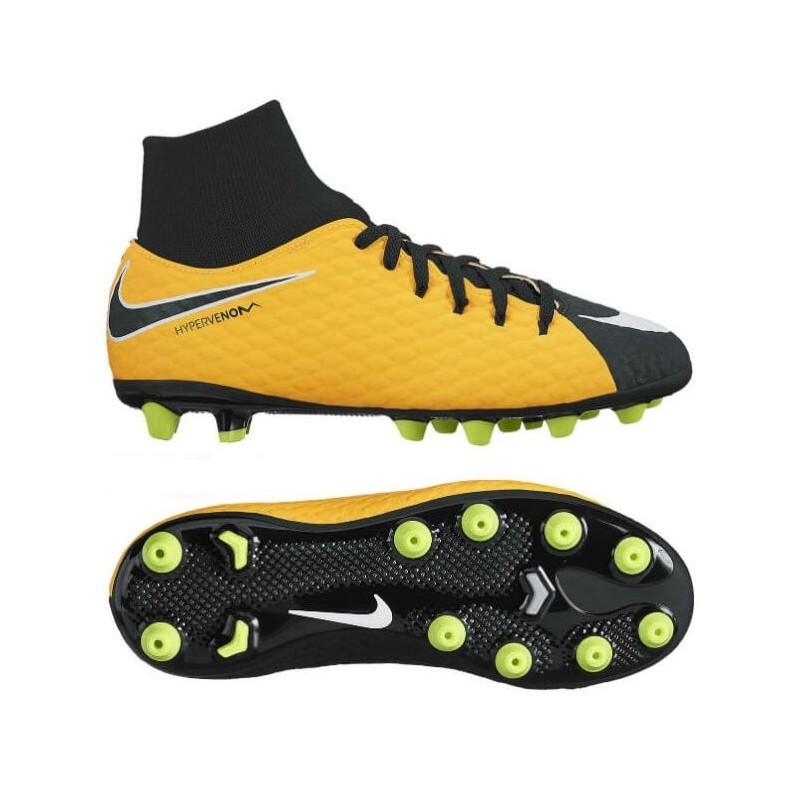 separation shoes b62e1 2397a Детские футбольные бутсы Nike Hypervenom Phelon 3 Df Ag-pro JR 917770-801.  Loading zoom
