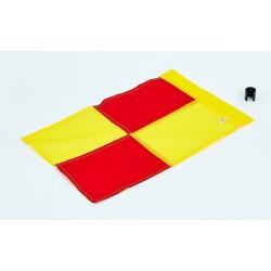 Флаг угловой (полотно) с клипсой для крепления к штанге C-4597