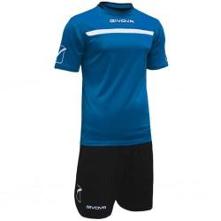 Футбольная форма GIVOVA KITC58.0210 сине-черная
