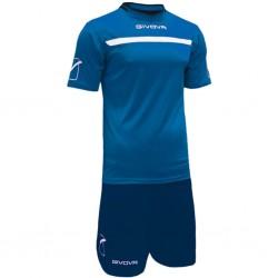 Футбольная форма GIVOVA KITC58.0204 синяя