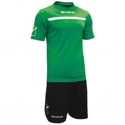 Футбольная форма GIVOVA KITC58.1310 зеленая