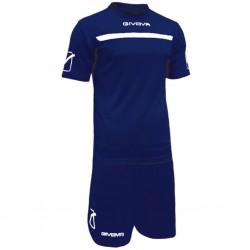 Футбольная форма GIVOVA KITC58.0403 темно-синяя