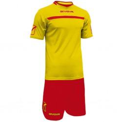 Футбольная форма GIVOVA KITC58.0712 желто-красная