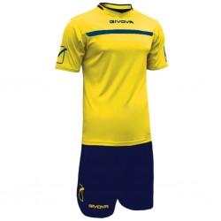 Футбольная форма GIVOVA KITC58.0704 желто-синяя