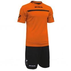 Футбольная форма GIVOVA KITC58.0110 оранжевая
