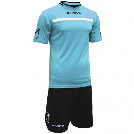 Футбольная форма GIVOVA KITC58.0510 голубая