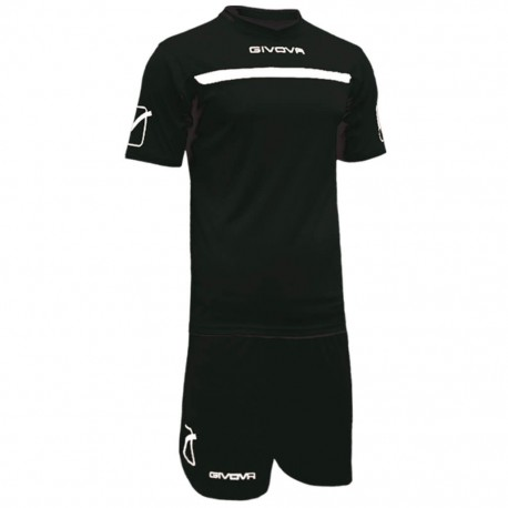 Футбольная форма GIVOVA KITC58.1003 черная