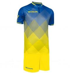 Футбольная форма GIVOVA KITC55.0207 сине-желтая