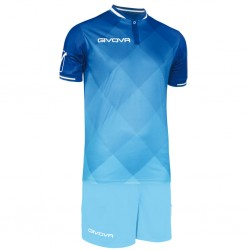 Футбольная форма GIVOVA KITC55.0205 синяя