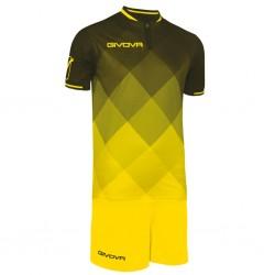 Футбольная форма GIVOVA KITC55.1007 желто-черная