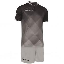 Футбольная форма GIVOVA KITC55.1009 черная