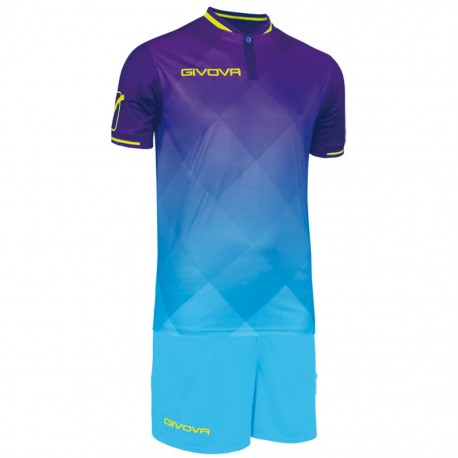 Футбольная форма GIVOVA KITC55.1424 фиолетовая