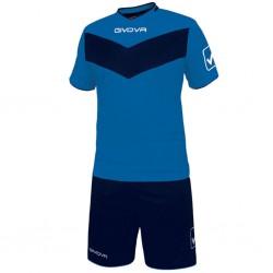 Футбольная форма GIVOVA KITT04.0204 синяя