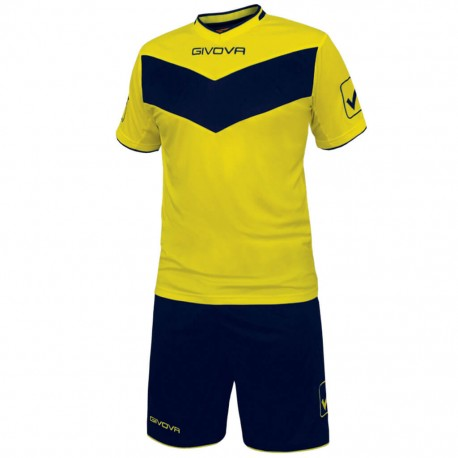 Футбольная форма GIVOVA KITT04.0704 желтая