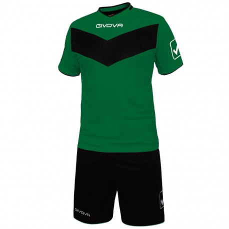 Футбольная форма GIVOVA KITT04.1310 зеленая