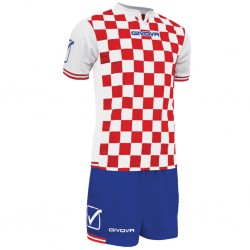 Футбольная форма GIVOVA KITC45.1202 красно-белая