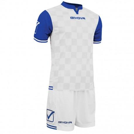Футбольная форма GIVOVA KITC45.0302 белая