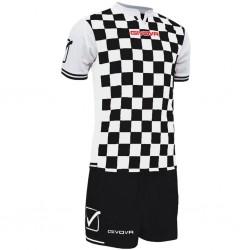 Футбольная форма GIVOVA KITC45.1003 черно-белая