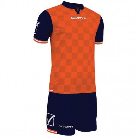 Футбольная форма GIVOVA KITC45.0401 оранжевая