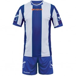 Футбольная форма GIVOVA KITC26.0203 сине-белая