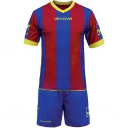 Футбольная форма GIVOVA KITC26.0208 сине-красная