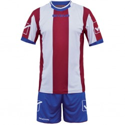Футбольная форма GIVOVA KITC26.1203 красно-белая
