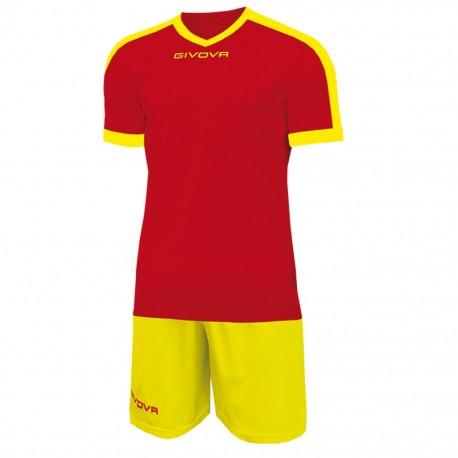 Футбольная форма GIVOVA KITC59.1207 красно-желтый