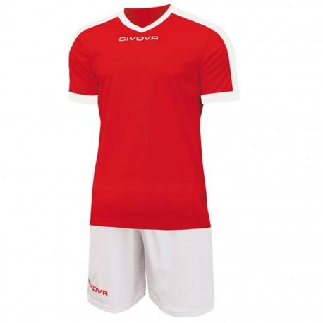 Футбольная форма GIVOVA KITC59.1203 красно-белая