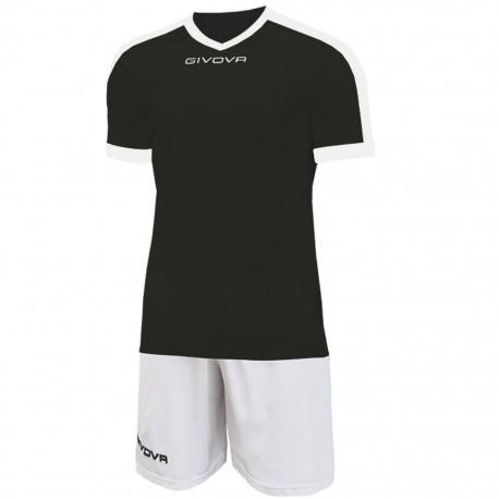 Футбольная форма GIVOVA KITC59.1003 черная