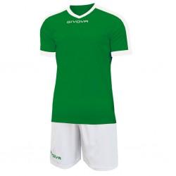 Футбольная форма GIVOVA KITC59.1303 зеленая