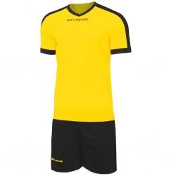 Футбольная форма GIVOVA KITC59.0710 желтая