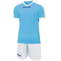 Футбольная форма GIVOVA KITC59.0503 голубая