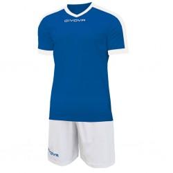 Футбольная форма GIVOVA KITC59.0203 сине-белая