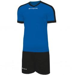 Футбольная форма GIVOVA KITC59.0210 сине-черная