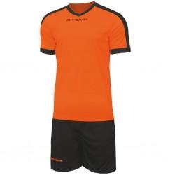 Футбольная форма GIVOVA KITC59.0110 оранжевая
