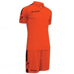 Футбольная форма GIVOVA KITC56.2810 оранжевая