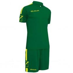 Футбольная форма GIVOVA KITC56.1319 зеленая