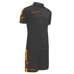 Футбольная форма GIVOVA KITC56.1028 черная