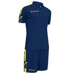 Футбольная форма GIVOVA KITC56.0419 темно-синяя