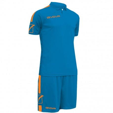 Футбольная форма GIVOVA KITC56.0228 голубая