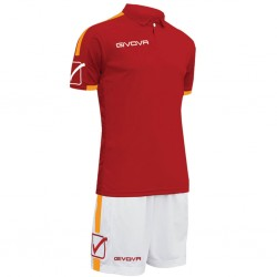 Футбольная форма GIVOVA KITC56.0801 красная